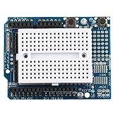 HALJIA ProtoShield Prototype Expansion Board with Mini Expansion Bread Board Compatible with Arduino UNO Maga Nano DUE Robot