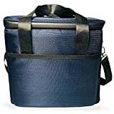 Patt クーラーボックス 保冷バッグ クーラーバッグ ランチバッグ 折り畳み 大容量 ショルダーストラップ付き コンパクト