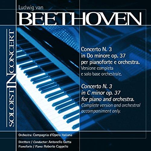 Piano Concerto No. 3 in C Minor, Op. 37: I. Allegro con brio (Backing Track)