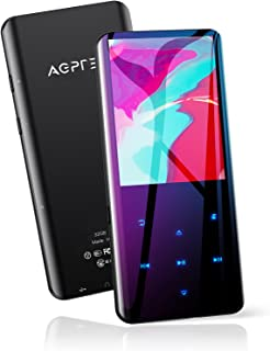 """32GB MP3 Player with Bluetooth 5.0, AGPTEK 2.4"""" Curved Screen Music Player with Speaker HiFi Lossless Sound with FM Radio,..."""