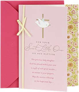 Best baptism anniversary cards Reviews
