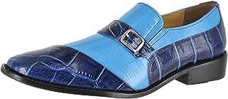 حذاء Haney بدون كعب بدون رباط للرجال من Giorgio Proiny، أزرق داكن، 11. 5
