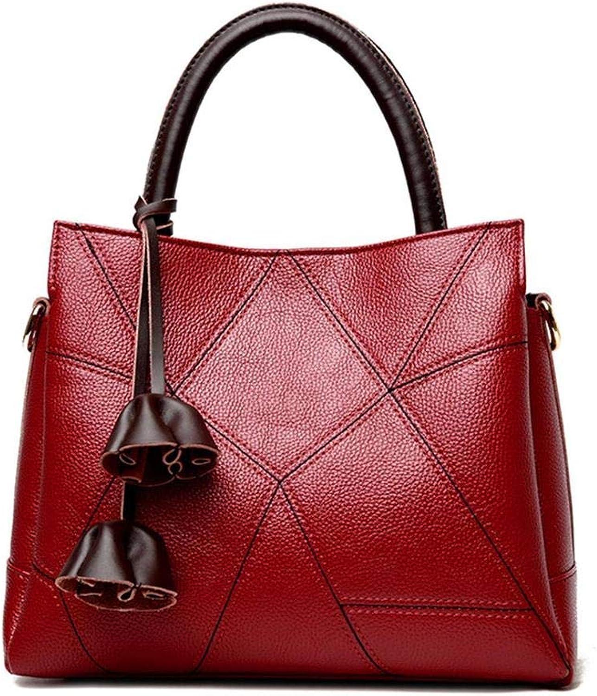 Bloomerang JIANXIU Leather Women's Handbags Tote Bag Luxury Women Shoulder Bags Fashion Women Bag Brand Handbag Bolsa Feminina color Red