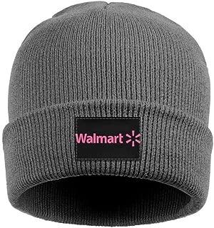coolgood Women's Men's Beanie Hat Walmart-Pink-Breast-Cancer-Logo- Knit Ski Caps