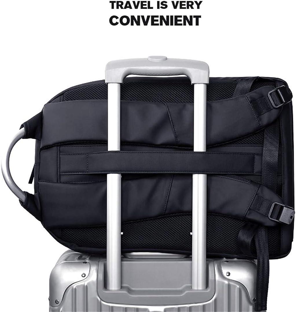Men Backpack Multifunction USB 17 Inch Laptop Business Large Capacity Waterproof Travel Backpack