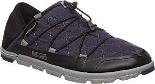 Pakems Chamonix - Men's Lightweight, Packable, All Weather Two-in-One Slipper/Shoe (Low Top - Convertible Heel)