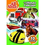 All About Ultimate Collection Box Set - All About Boats , Ships , Cars , Construction , Fire Engines , Trucks , Buildings , Cowboys , Dinosaurs, Horses , Old Mcdonald's Farm - 325 Minutes