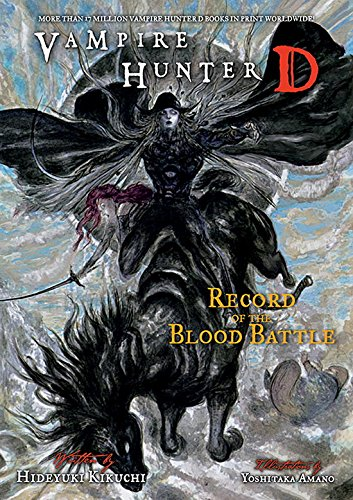 Vampire Hunter D Volume 21: Record of the Blood Battle (English Edition)