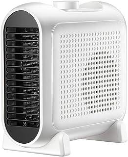 GYF Calefactor eléctrico 1200W Calefactor Eléctrico Bajo Consumo Casa Pequeña Escritorio Calentador Protección contra Sobrecalentamiento El Ahorro De Energía Material Ignífugo Blanco