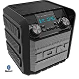 Ion Audio Tailgater Express 20W Water-Proof Bluetooth Compact Speaker IPA70 (Black) - (Renewed)