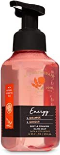 Bath and Body Works Aromatherapy Energy Orange & Ginger Gentle Foaming Hand Soap 8.75 Oz