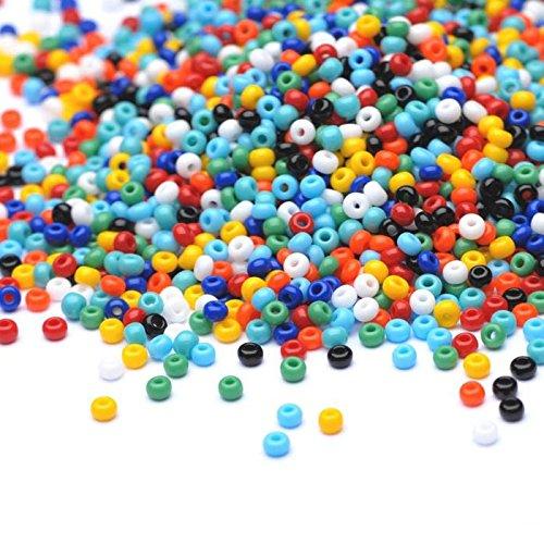 PRECIOSA Beads Unlimited–Opaco Checa Mix Semillas de Cristal rocalla/11/0-pack de 100G