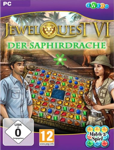 Jewel Quest 6: The Saphire Dragon [PC Download]