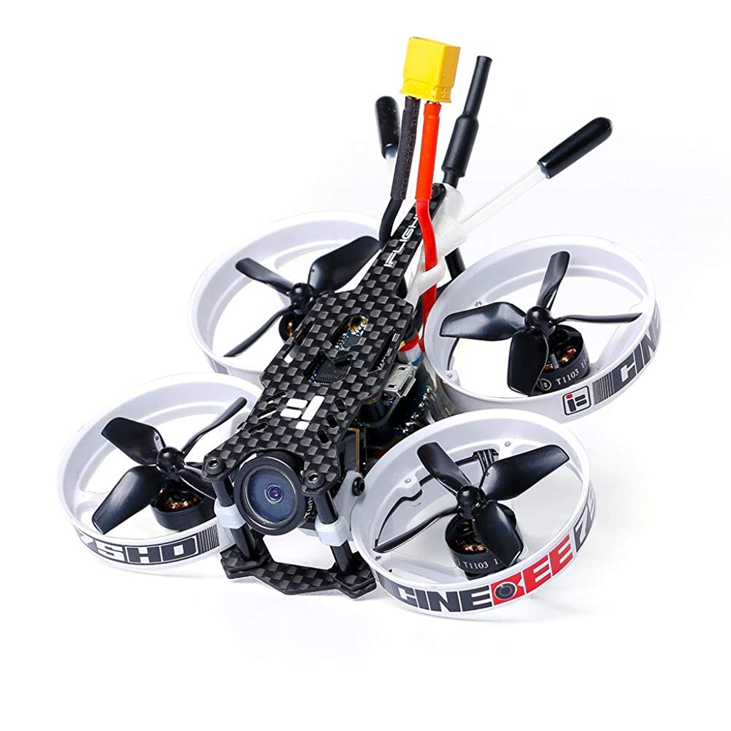 iFlight CineBee 75HD 2-3S Brushless Micro Indoor Racing Drone Whoop 75mm BNF Micro Quadcopter with FrSky R-XSR
