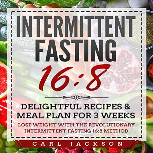 Intermittent Fasting 16:8 audiobook cover art