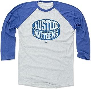 500 LEVEL Auston Matthews Shirt - Vintage Toronto Hockey Raglan Tee - Auston Matthews Puck