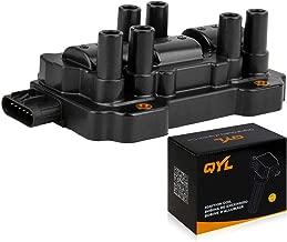 QYL Ignition Coil Pack Replacement for Chevy GMC Buick Pontiac Saturn Equinox Impala Malibu Savana G6 Vue V6 3.4L 3.5L 3.9L 4.3L 12595088 UF-434