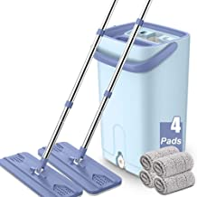 Magic Spin Floor Mop Home Tile Marble Floor Cleaner 360 Degree Rotating Mop Bucket Mop Cleaning Tool Kit