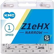 "KMC Unisex Z1ehx smalle ketting, zilver, (3/32"")"