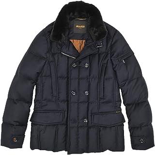 (ムーレー)MooRER ダウンジャケット メンズ ダウン ダブルブレストジャケット ブルー SIRO-L1 シーロ 正規取扱店
