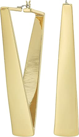 Vince Camuto - V Hoop Earrings
