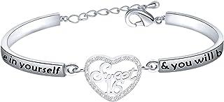 FUSTMW Happy 16th Birthday Gifts Sweet 16 Bracelet Sixteen Birthday Sweet 16 Jewelry Gifts for Girls Daughter Bracelet