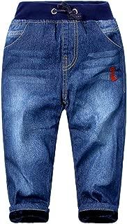 Boys' Winter Denim Jeans with Fleece Lining