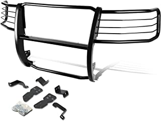 For Chevy Silverado 1500 GMT900 Front Bumper Protector Brush Grille Guard (Black)