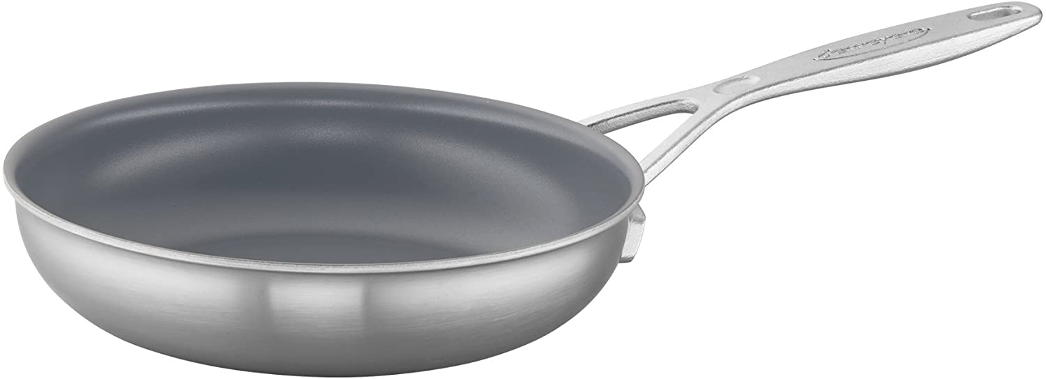 Demeyere Industry 5-Ply 8  Stainless Steel Ceramic Nonstick Fry Pan