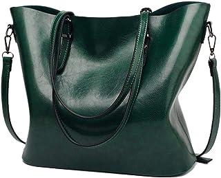 Yiwjby Schultertasche für Frauen Berühmte Handtaschen Frauen Beutel Schulter Umhängetasche Tasche aus weichem Leder Handtasche