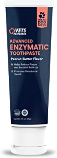 Brand New! Advanced Enzymatic Toothpaste for Dogs - Veterinarian-Grade, Safe and Natural Dog Toothpaste - Freshens Dog Bre...