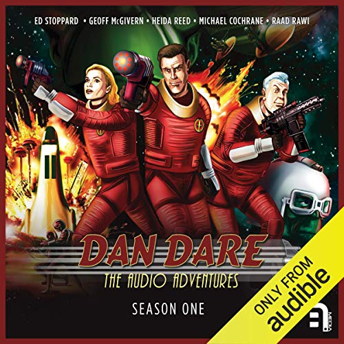Dan Dare: The Audio Adventures - Season 1                   By:                                                                                                                                 Richard Kurti,                                                                                        Bev Doyle,                                                                                        James Swallow,                   and others                          Narrated by:                                                                                                                                 Ed Stoppard,                                                                                        Geoff McGivern,                                                                                        Heida Reed,                   and others                 Length: 7 hrs and 58 mins     8 ratings     Overall 4.6