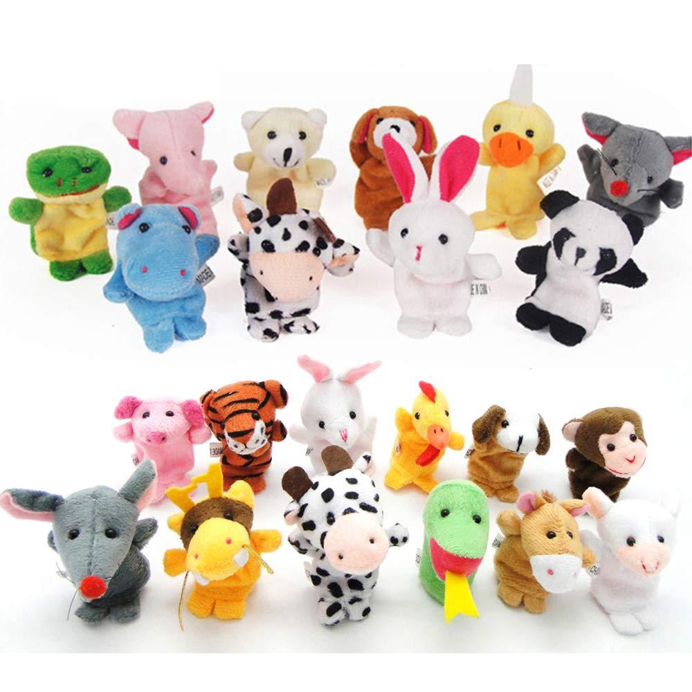 Plush Animals Finger Puppet Toys