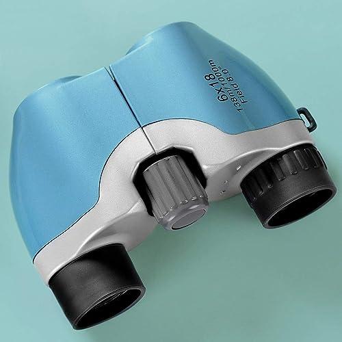 Jumelles 6x18 avec Prisme BAK4 - Jumelles de Grande Taille puissantes pour l'observation des Oiseaux, Le Sport et Le Tourisme - Durable, portatif et étanche - Objectif à revêteHommest Complet FMC