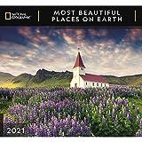 National Geographic Most Beautiful Places on Earth 2021 - Calendario da parete