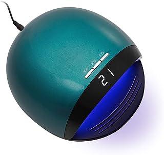 Delanie Lámpara LED Uñas Secador de Uñas UV de Gel Semipermanentes UV 120W con 3 Modos de Tiempo y Pantalla LCD para Manicura y Pedicura en Salón o en Casa Verde