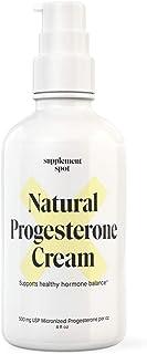 Sponsored Ad - Supplement Spot Natural Progesterone Cream - Women's Health Support: Paraben-Free (4 oz.)