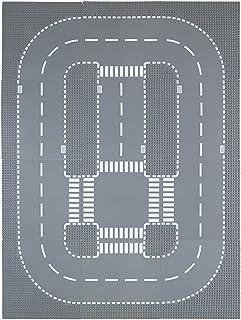 """صفحات پایه جاده Lekebaby برای ساختمان شهر جاده صفحات خیابان 10 """"x 10"""" 100٪ سازگار با مارک های اصلی ، لوازم جانبی ساختمان ساختمان 12 بسته"""