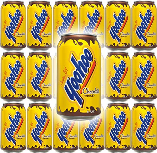 Yoo-Hoo Chocolate Drink, 11 oz Can (Pack of 15, Total of 165 Oz)