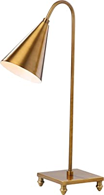 Safavieh TBL4022A Lighting Collection Annetta Gold Table Lamp