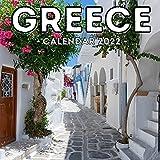 Greece Calendar 2022: 16-Month Calendar, Cute Gift Idea For Greece Lovers Men & Women
