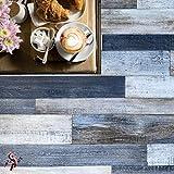 Pavimento in pvc effetto legno Altezza 100 cm pavimento pvc legno per interno esterno PREZ...