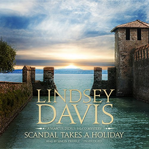 Scandal Takes a Holiday audiobook cover art