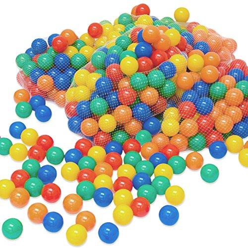 LittleTom 400 Baby ballenbak ballen - 6cm ballenbad speelballen voor kinderen vanaf 0 jaar