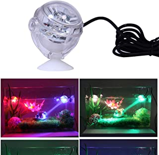 Supshopping LED Aquarium Light Fixtures Small Gallon Submersible Planted Fish Tank Lights for Saltwater and Freshwater Aquariums