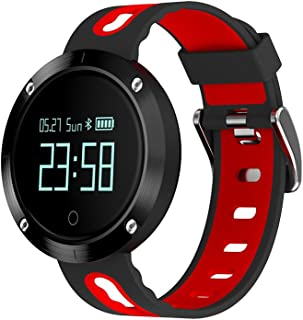 teckey Smart Watch Compatible con iOS y Android, tu compañero Sport con pulsómetro, frecuencia cardíaca, Actividad Tracker