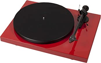 Pro-Ject Debut Carbon DC Turntable with Ortofon 2M Red Cartridge (Red)