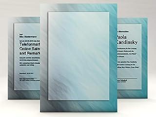 Paperandpicture Lot de 50 feuilles de papier pour certificat DIN A4 190 g/m²