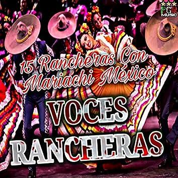 15 Rancheras Con Mariachi Mexico