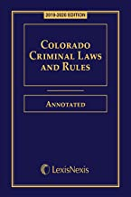 Best colorado criminal laws and rules Reviews
